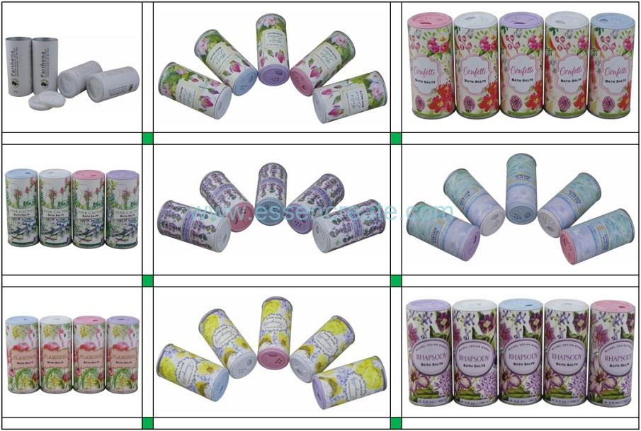 Condiment Packaging Paper Tube with Shaker