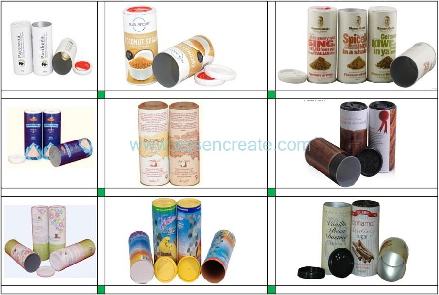 Food Powder Packaging Shaker Cans