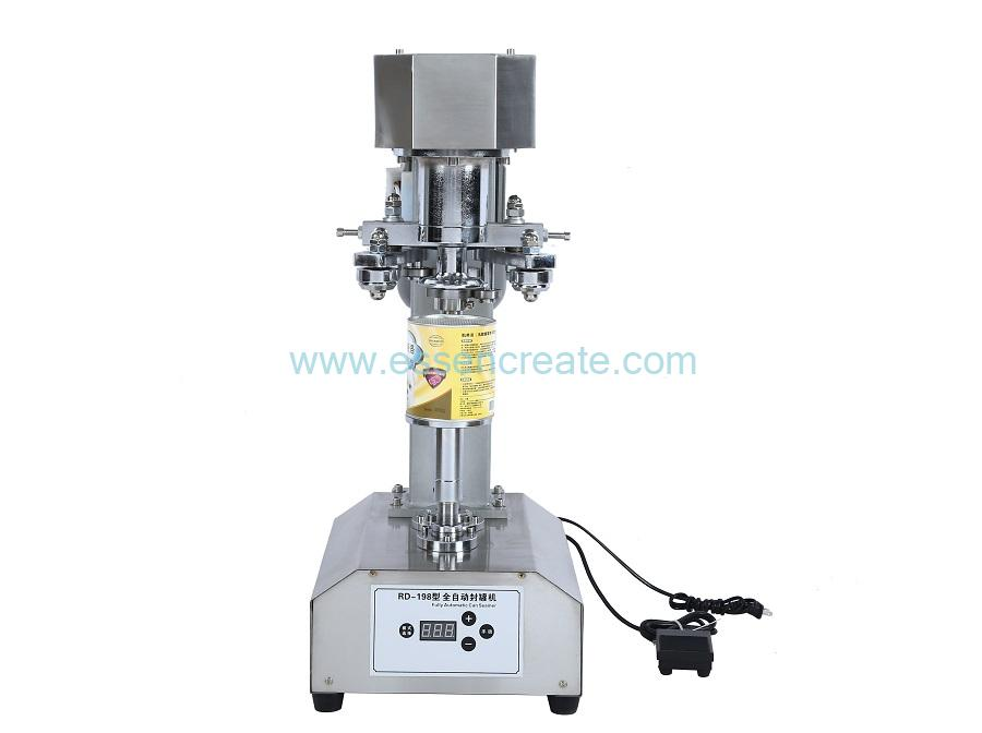 SST Table Type Electric Manual Can Sealing Machine