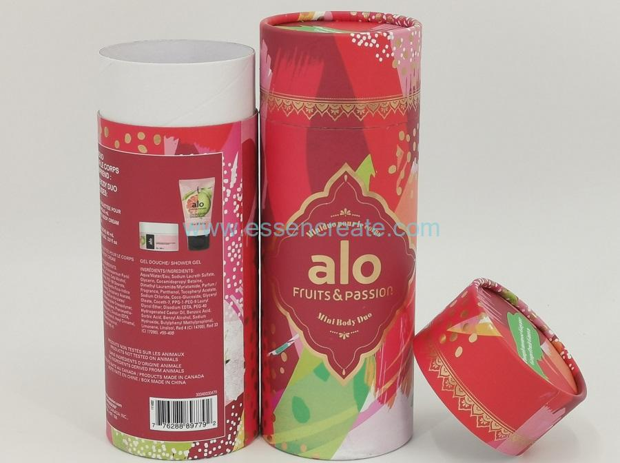 Shower Gel Packaging Paper Canister