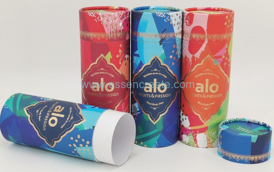 Body Cream Packaging Paper Canister