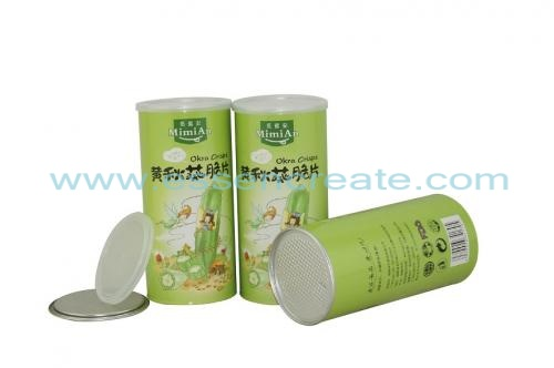 Okra Packaging Composite Paper Tube