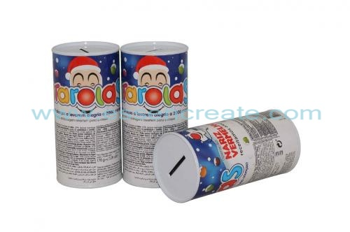 Coin Paper Tube