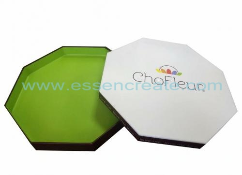 Chocolate Praline Packaging Octagonal Box