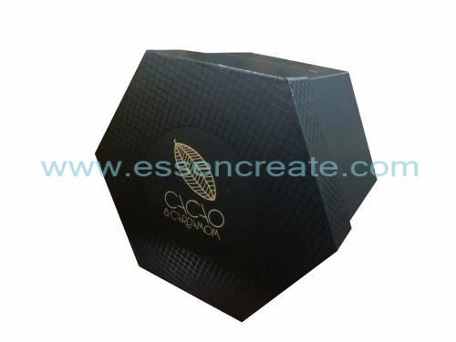Four Tier Rotatable Hexagon Six Sides Box