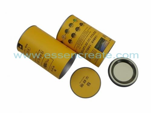 Round Tea Packaging Canister