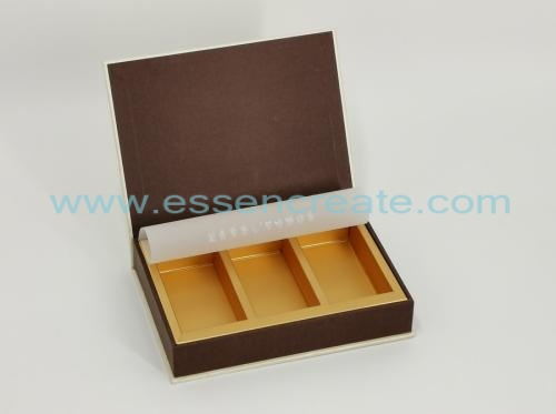 Magnetic Bookshape Tea Packaging Gift Box