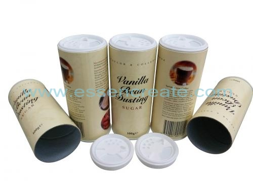 Sugar Paper Packaging Shaker Canister