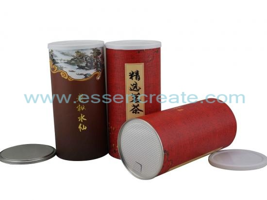 Composite Tea Packaging Paper Canister