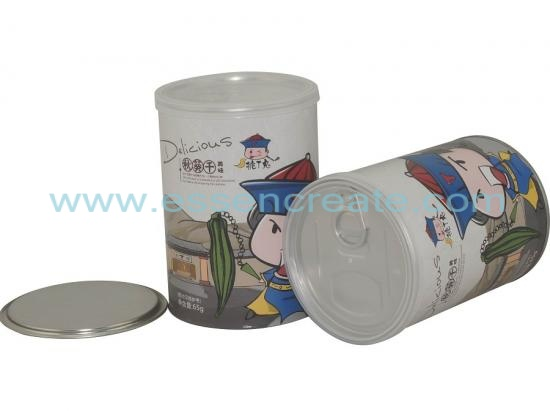 Gumbo Canister Packaging Paper Tube