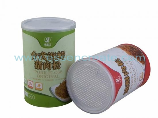 Dried Soft Fish Packaging Paper Canister