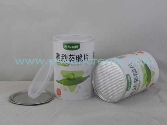 Dried Food Packaging Composite Paper Canister