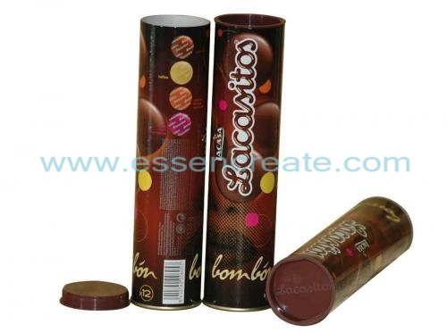 Chocolate Ball Packaging Paper Tube