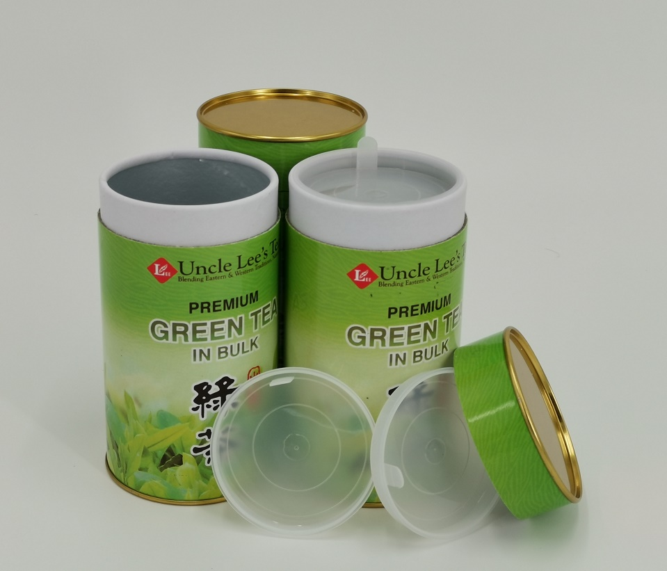 Composite Paper and Metal Rolled Edge Paper Cans
